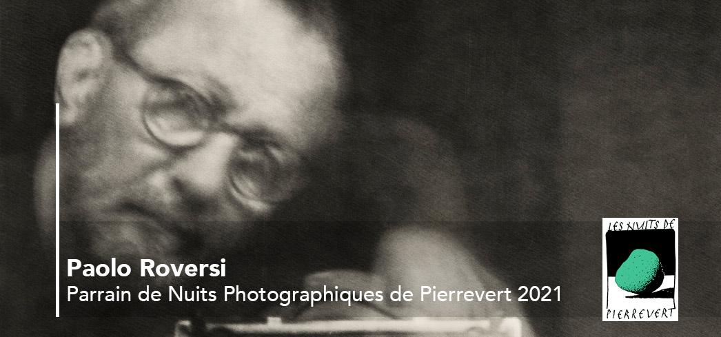 Paolo Roversi,  parrain de la 13ème édition des Nuits Photographiques de Pierrevert