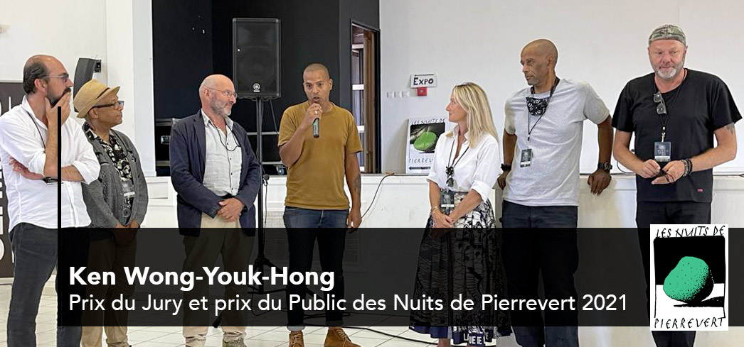 Ken Wong-Youk-Hong : gagnant du prix du jury et du public 2021